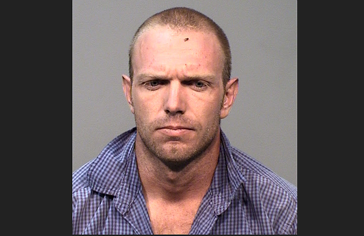 Chino Valley resident Nicholas Kimball, 29, was arrested in Prescott on drug and weapon charges Thursday, Sept. 5, 2019. (Prescott Police Department/Courtesy)