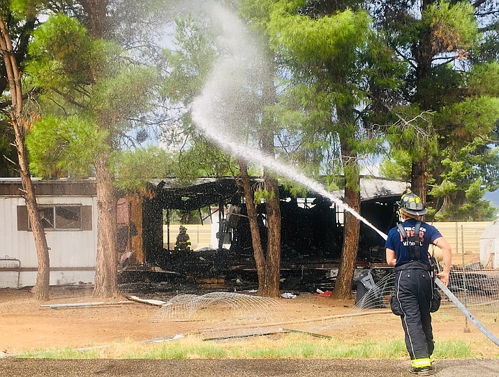 Verde Lakes house fire | The Verde Independent | Cottonwood, AZ