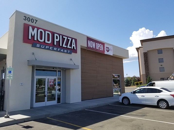 MOD Pizza opened for business as of Sept. 3, 2019. (Max Efrein/Courier)