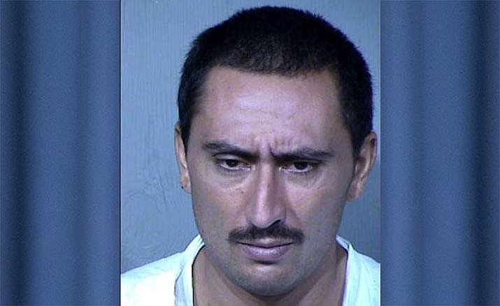 Luis Lino, 32, has been booked on suspicion of first-degree murder for allegedly stabbing his neighbor to death Sunday, Sept. 8, 2019. (Phoenix PD/Courtesy)