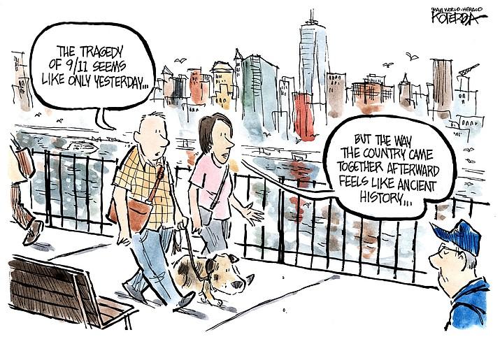 Editorial cartoon(1): September 10, 2019