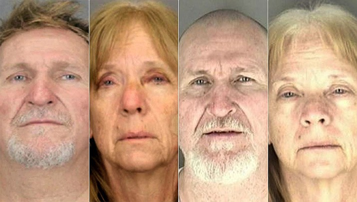 Blane Barksdale, 56, and his wife Susan Barksdale, 59, are wanted in a murder case in Tucson. Authorities believe the fugitives are getting help staying missing. (Tucson Police Department and U.S. Marshal)