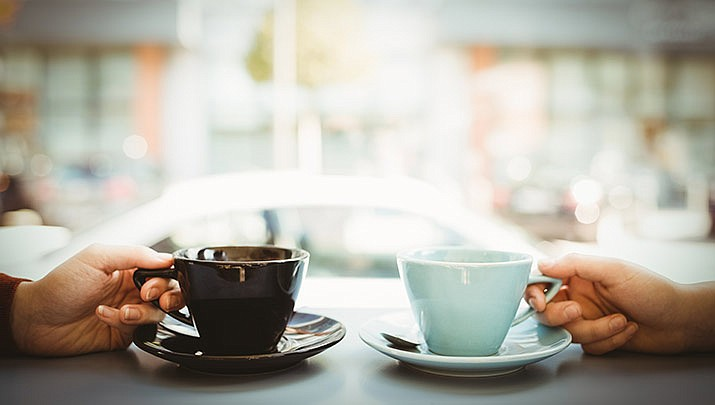Coffee with the Mayor of Dewey-Humboldt happens every Wednesday through Dec. 18. (Stock image)