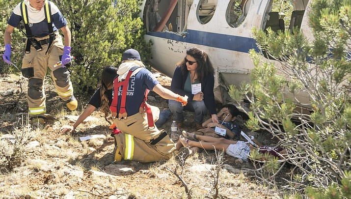Disaster drill helps prepare Grand Canyon Airport for worst case scenarios