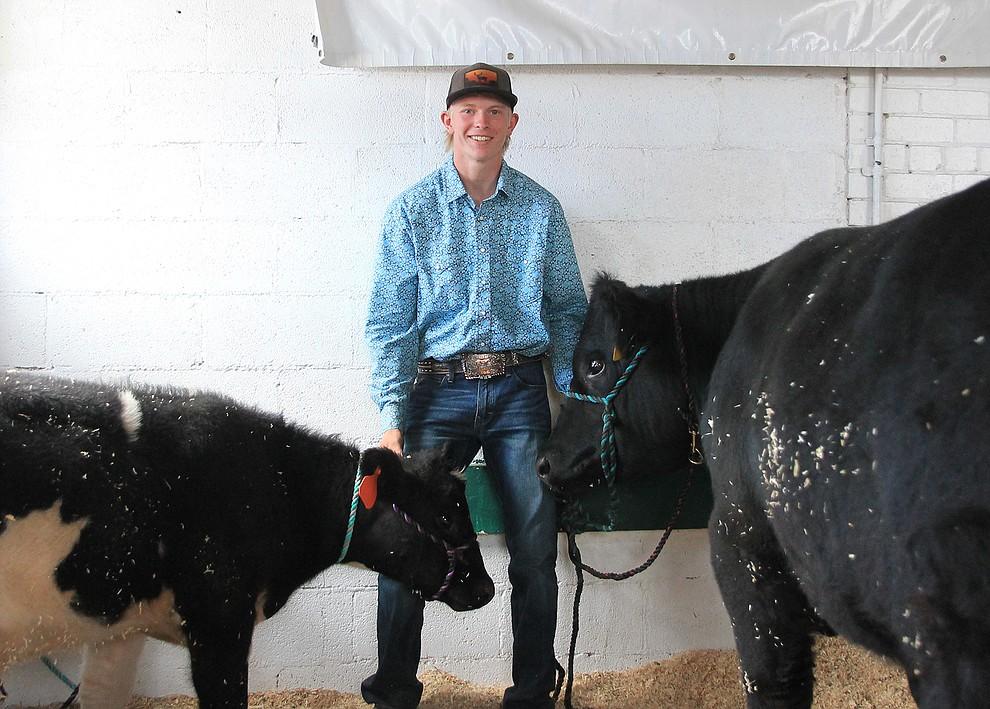 Kody Kelley was the beef heavywieght second class winner. (Wendy Howell/WGCN)