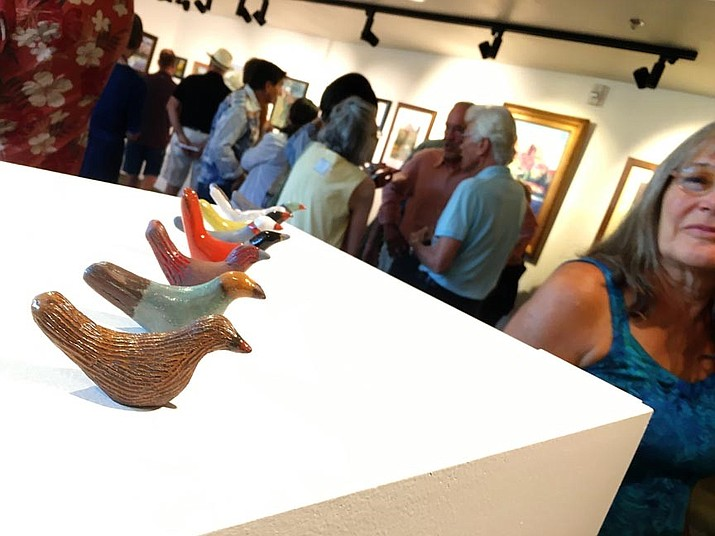 The Camp Verde Community Library invites juried artists from Yavapai College Clarkdale's Visions of the Verde exhibit to participate in a special meet and greet at 10:30 a.m. Saturday, Oct. 5. VVN/Bill Helm