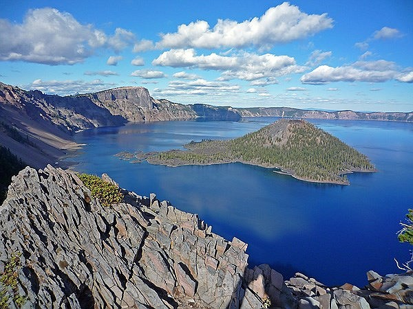 An Oregon man was forced to pay a fine after destroying native vegetation at Crater Lake National Park with an atv. (Photo/NPS)