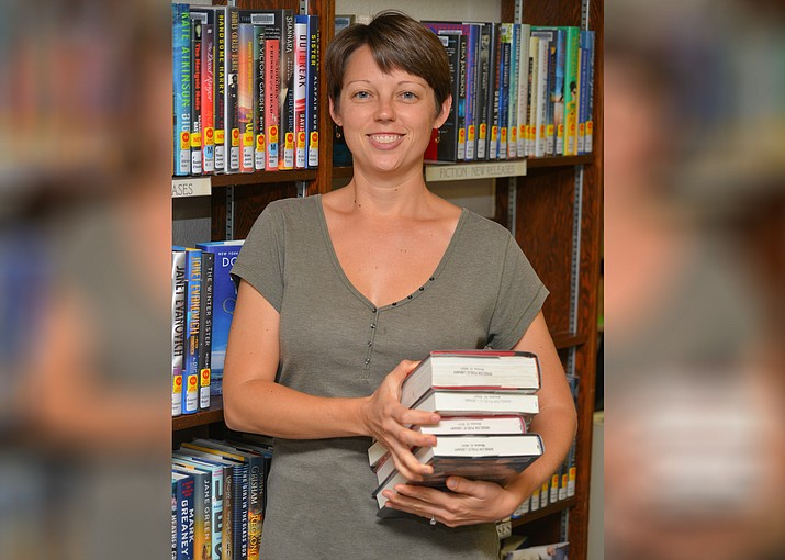 Brandee Leary is Winslow's new city librarian. Her first day on the job was July 31. (Todd Roth/NHO)