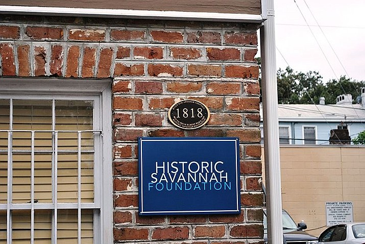 The Historic Savannah Foundation is shown above. (Photo by Elisa Rolle, cc-by-sa-4.0, https://bit.ly/2kaFdOl)