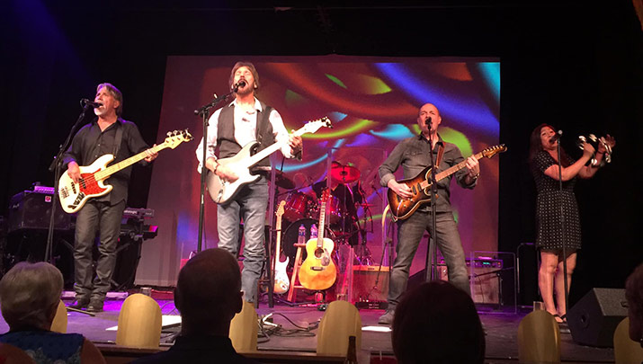 The Eric Clapton Experience at the Elks, Sept. 13