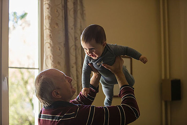 Grandparents Raising Grandchildren Support Group is a free program from Western Arizona Council of Governments that provides a safe space for grandparents who are raising their grandchildren to talk. (Photo by Johnny Cohen on Unsplash)