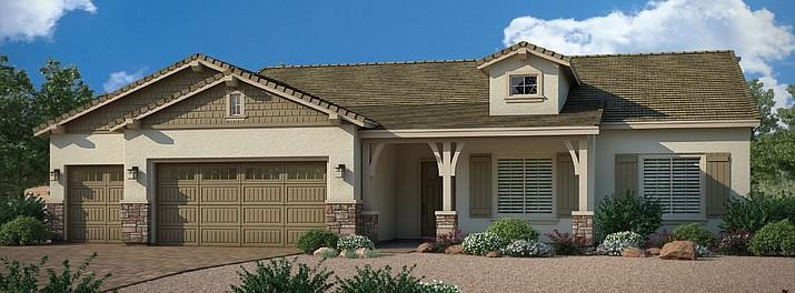 Dorn Homes' model in The Dells.