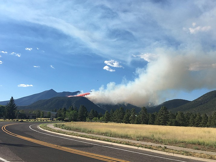 The Museum Fire began July 21 and burned 1,961 acres on the Coconino National Forest above Flagstaff. (USFS/photo)