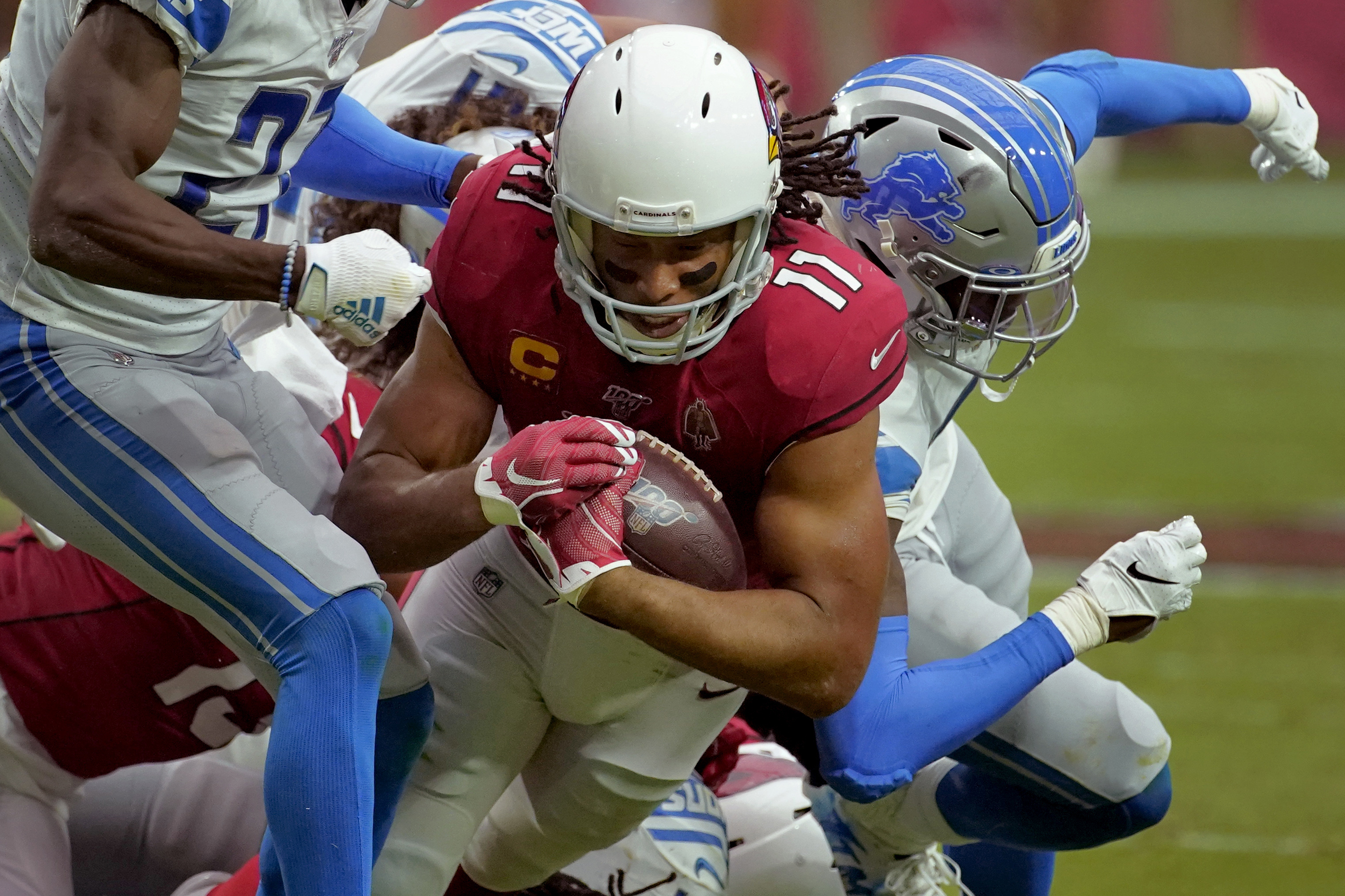 Blast from past: Fitzgerald, Suggs make plays for Cardinals