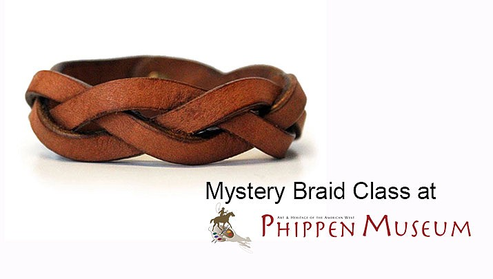 Learn the secret technique to crafting a leather braided wrist band at the Phippen Museum, Sept. 14. (Monica Brabant/WNI Photo Illustration)
