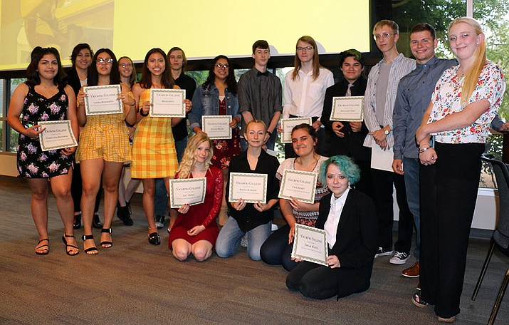 Yavapai College LEAD students took part in a completion celebration at the YC Prescott campus. (Yavapai College Community Relations/Courtesy)