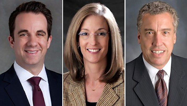 Bankruptcy attorneys Thomas H. Allen, Hilary L. Barnes and Michael A. Jones of Allen Barnes & Jones, PLC, have been listed in the 2020 edition of The Best Lawyers in America. (Courtesy)