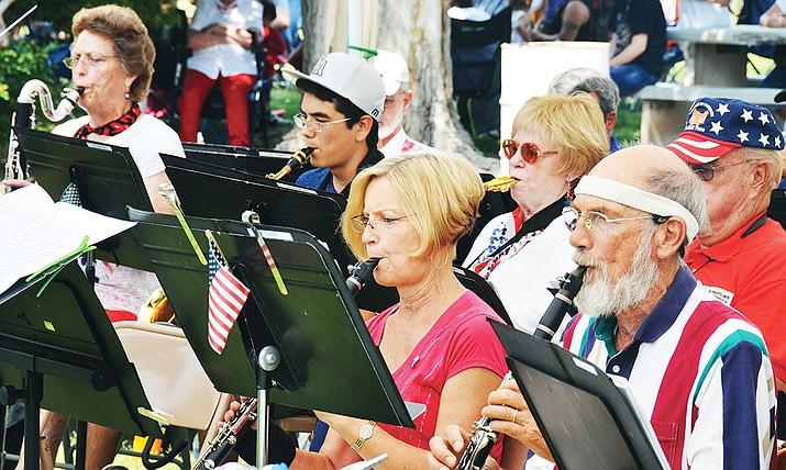 The Cottonwood Community Band will first perform the program Saturday, Sept. 28, in the Cottonwood Grove at Dead Horse Ranch State Park in conjunction with Verde River Day. The band will then repeat the program at 3 p.m. on Sunday, Oct. 6, at the Phillip England Center for the Performing Arts in Camp Verde. VVN file photo