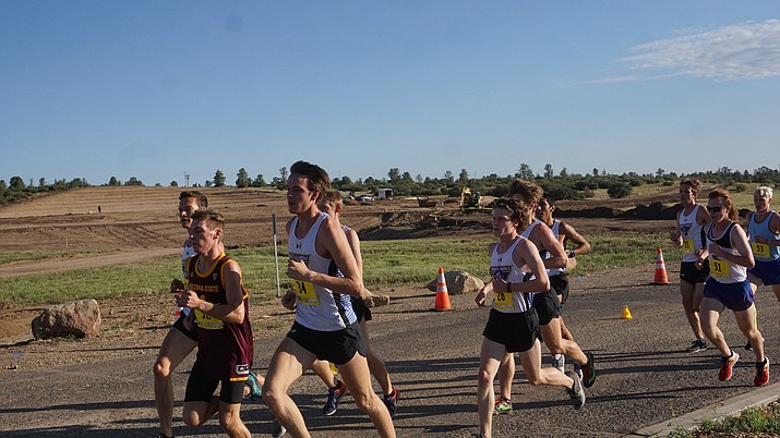 Embry-Riddle cross-country competes in the Embry-Riddle Arizona Invitational on Saturday, Sept. 14, 2019. (Jaime Long, ERAU Athletics/Courtesy)