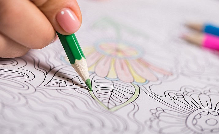 Adults can come relax and do some coloring at the Prescott Valley Public Library the first and third Friday of the month. (Stock image)
