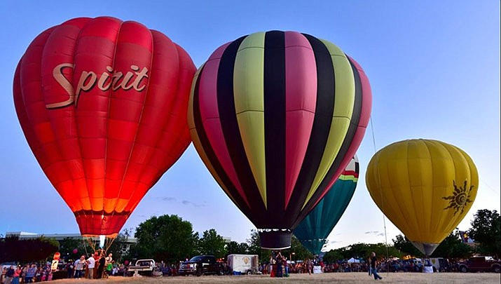 The Prescott Valley Balloon Fest is taking place on Saturday, Sept. 21. (Yavapai Big Brothers Big Sisters, ‎Prescott Valley Balloon Fest 2019)