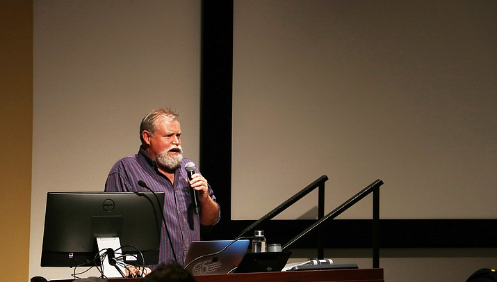 Into the Canyon: Author, adventurer Craig Childs speaks at NAU