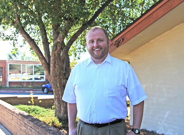 Chase Waggoner began his time as Williams city manager two weeks ago. Waggoner is originally from Missouri where he worked in city government. (Wendy Howell/WGCN)