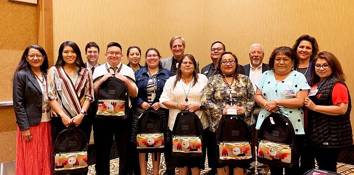 Interns with Navajo Nation Gaming Enterprises were from a variety of town and communities on the Navajo Nation. (Photo/Navajo Gaming)
