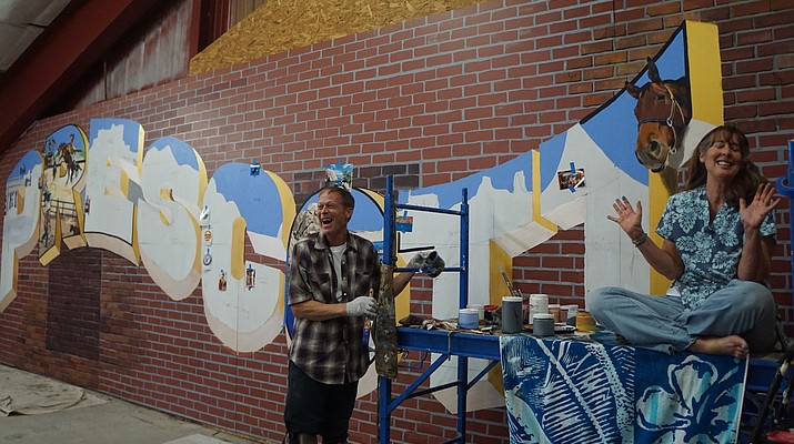 Painting P-town: New mural aims to sum Prescott up in images