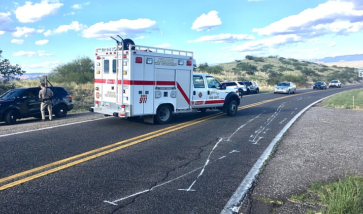 State Route 89A between Number 1 Foods in Clarkdale and milepost 347 was closed for approximately 40 minutes following a motorcycle crash that resulted in two people being taken to area hospitals. VVN/Vyto Starinskas
