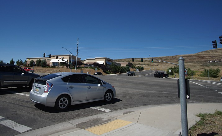 Intersection of Highway 69 and Sundog Ranch Road. (Cindy Barks/Courier)