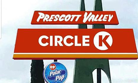"The proposed redesign of the motel sign at the northwest corner of Highway 69 and Navajo Drive shows ""Circle K"" inserted over the current ""Motel"" portion of the sign. (Courtesy)"