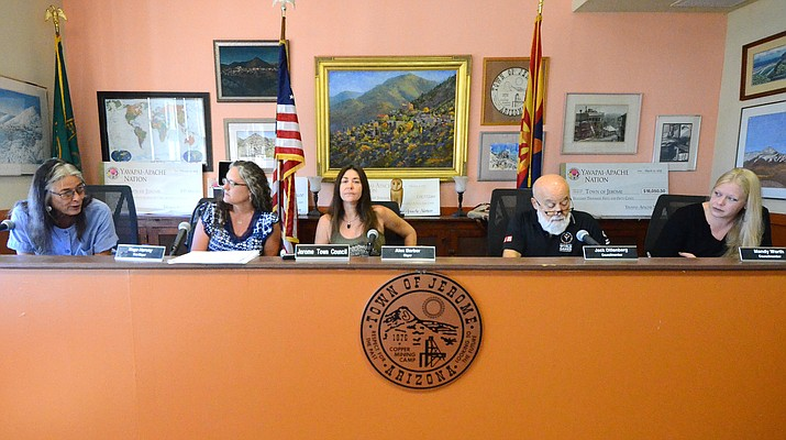 The Jerome Town Council meets early Thursday morning about parking exemptions to their parking meters. VVN/Vyto Starinskas