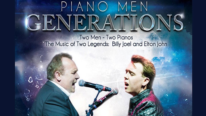 Come enjoy the music of Billy Joel and Elton John at the Elks Theatre Performing Arts Center, 117 E. Gurley St. in Prescott at 7 p.m. on Friday, Sept. 27. (Elks Theatre Performing Arts Center)