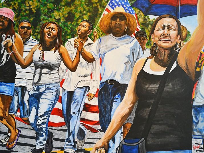 'SB 1070 March,' by Ardyn Feken.