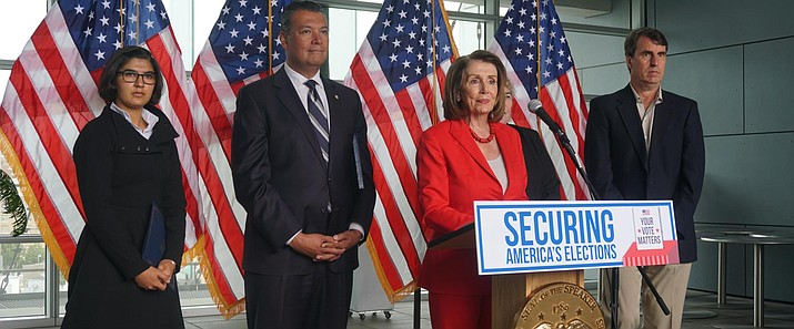 Speaker of the House Pelosi will meet with her caucus later as more House Democrats are urging an impeachment inquiry amid reports that President Donald Trump pressured Ukraine to investigate former Vice President Joe Biden and his family.