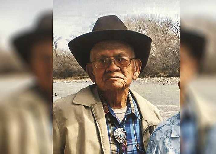 94-year-old Dennis Hardy, Sr. is missing and was last seen near Fort Defiance, Arizona. (Photo/Office of the President and Vice President)