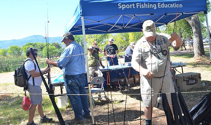 Saturday's Verde River Day begins with free fishing at the Dead Horse Ranch State Park lagoon at 8 a.m. All other activities begin at 9 and the event is free. VVN/Vyto Starinskas