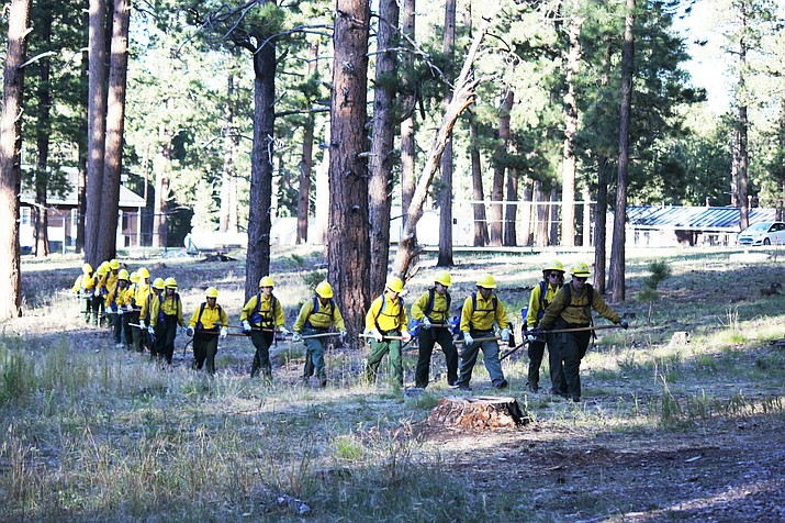 Forest Service and Park Service partner to host first Women in Wildfire bootcamp on North Rim. (Andrew Hostad/U.S.F.S.)