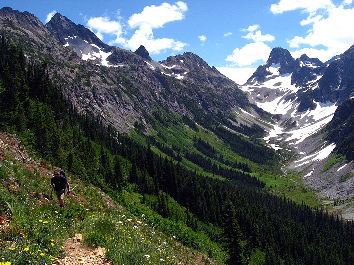 Easy Pass, North Cascades National Park. (Photo/USGS)