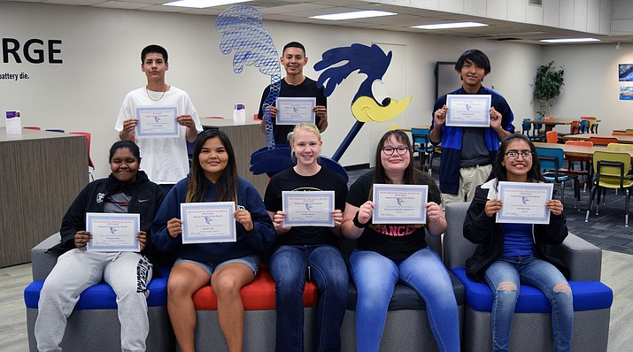 Holbrook High School recently announced the August Students of the Month. (Submitted photo)