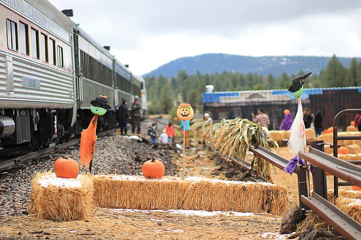 Grand Canyon Railway's Pumpkin Patch Train begins running Oct. 8. (Wendy Howell/WGCN)