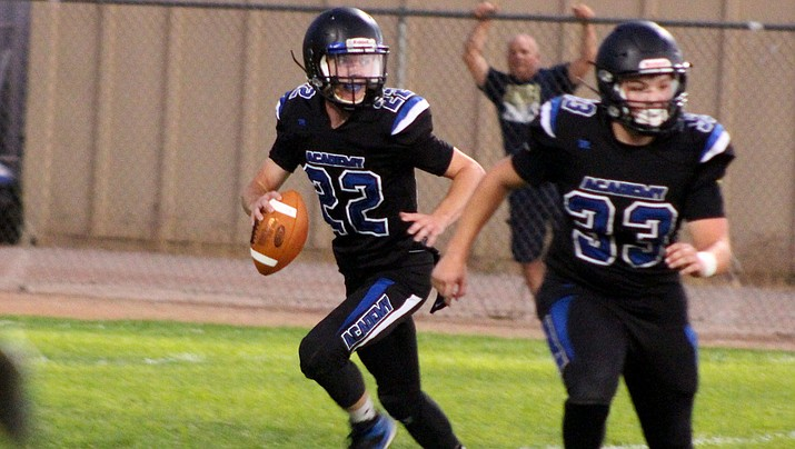 Charlie Anderson, left, and the Tigers host Bourgade Catholic Friday night. (Daily Miner file photo)