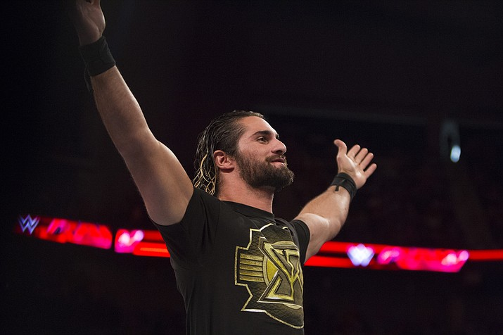 Seth Rollins coming to the Findlay Toyota Center in Prescott Valley this Saturday, September 28 at 7:30 p.m. (WWE/Courtesy)