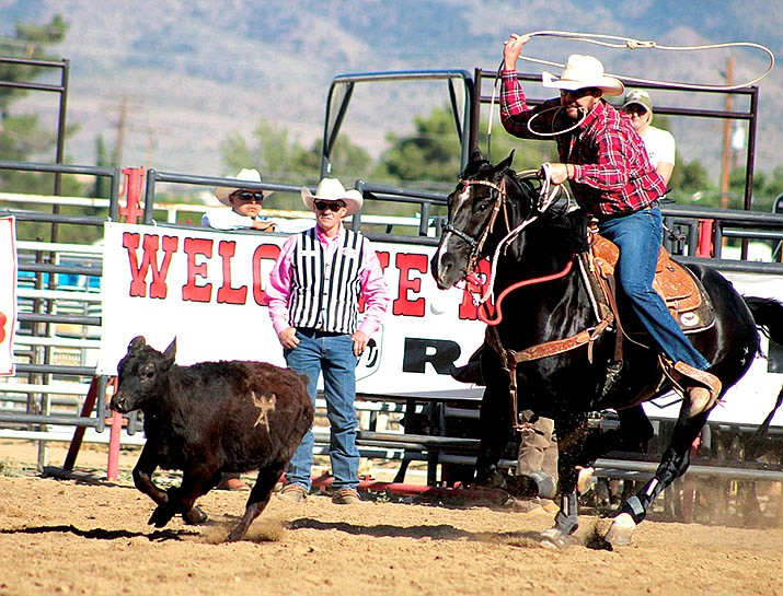 The Grand Canyon Pro Rodeo Circuit is coming to the Mohave County Fairgrounds this weekend. Action kicks off at 6 p.m. Saturday and continues at 2 p.m. Sunday. (Daily Miner file photo)