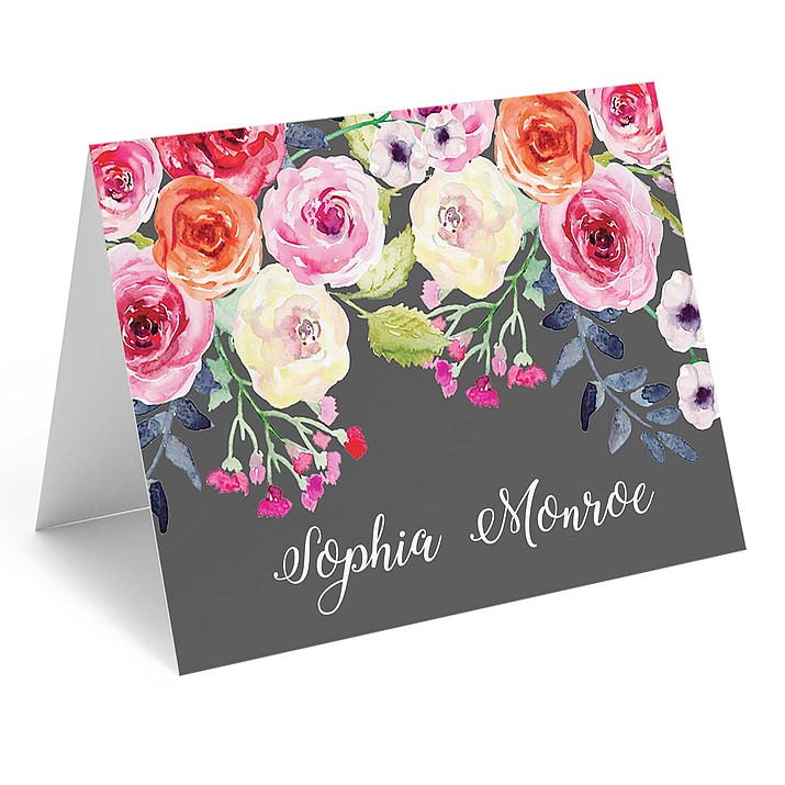 Embossed elements, as well as watercolor prints and other artistic imagery, elevate the handwritten notecard even further. Stationery Studio has a broad selection, and notecards may be monogrammed or otherwise personalized. (Photo via AP)