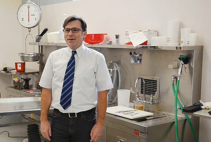 Dr. Jeffrey Nine recently took over as the Yavapai County Medical Examiner. Courtesy photo