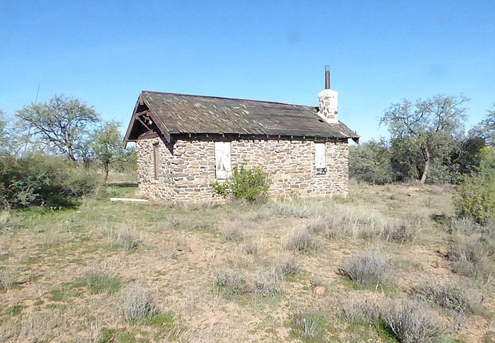 Copper Creek Cabin, outside. (Nigel Reynolds/Courtesy)