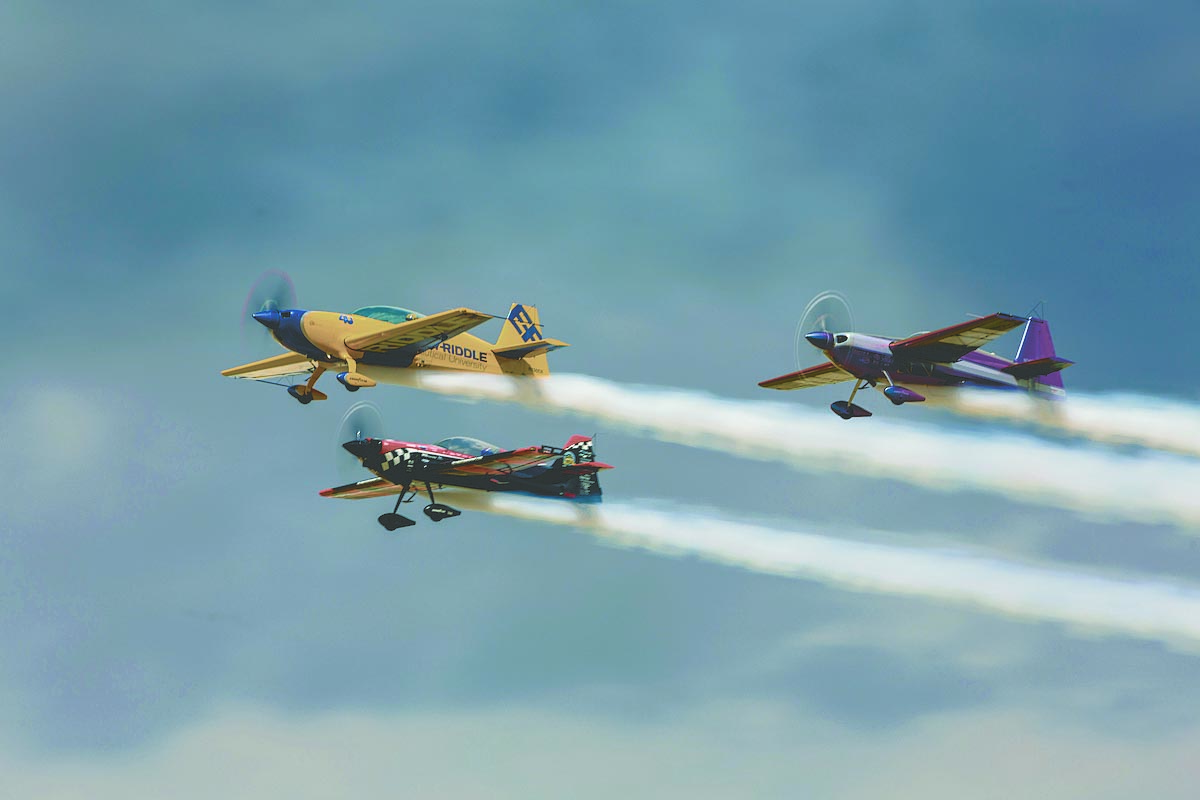 Embry-Riddle, City of Prescott hosting 'Wings Out West' airshow Oct. 5
