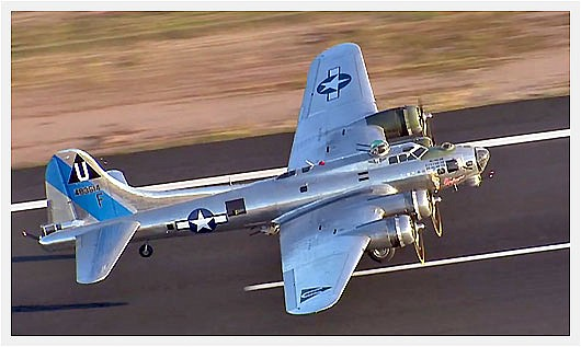 "Pictured is a CAF B-17 Sentimental Journey airplane. The annual ""Wings Out West"" airshow is set for Saturday, Oct. 5, 2019, in Prescott. (Richard Mitchell/Courtesy)"